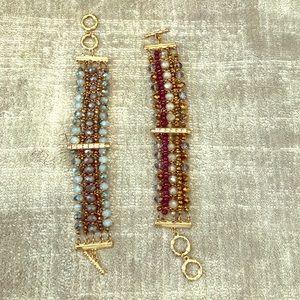 Jewelry - 2 beaded bracelets